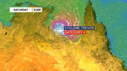 Australia weather news forecast Tropical Cyclone Trevor Cyclone Veronica Northern Territory Western Australia