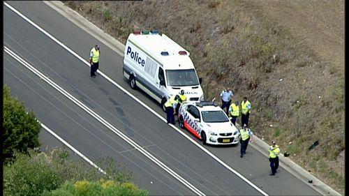Campbelltown Road is closed in both directions between St Andrews Road and Williamson Road. (9NEWS)