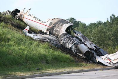 Travis Barker plane crash
