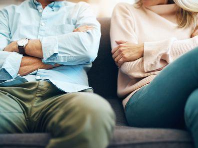 Woman's shock at husband during divorce
