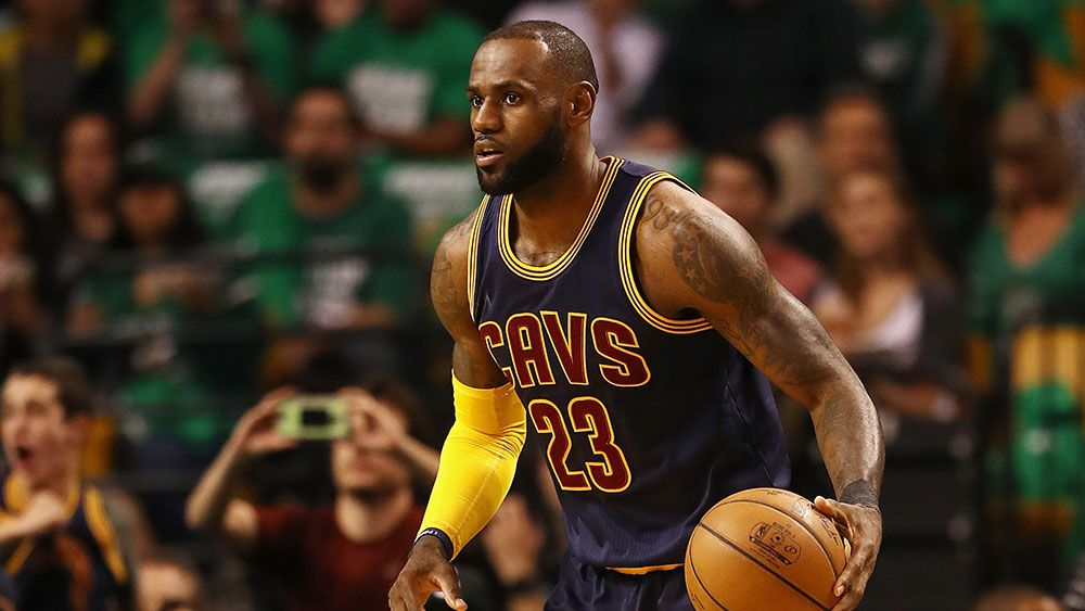 LeBron James leads Cleveland to NBA finals