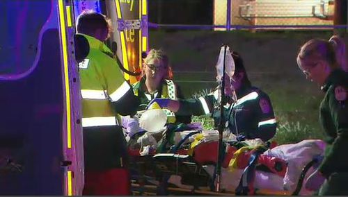 One person died and another is in a serious condition after the crash. Image: 9News