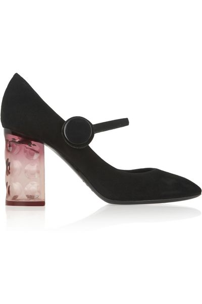 <p>From Velvet Mary Janes to '70s swirls, block heels and wedges, the new season shoes cover all options to update your wardrobe now.</p><p>Mary Janes</p>