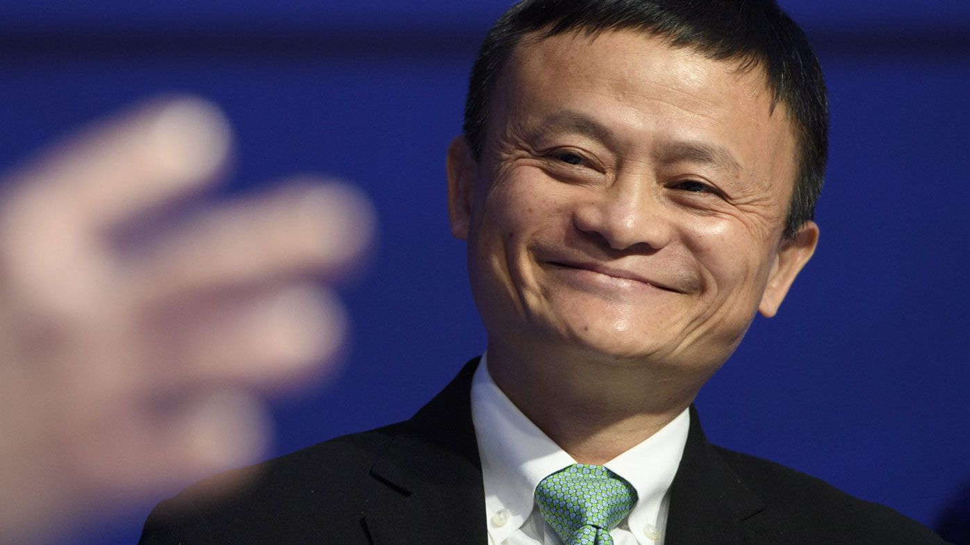 Alibaba Group Holding co-founder Jack Ma.