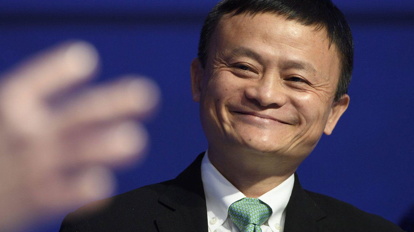Alibaba Group Holding co-founder Jack Ma.