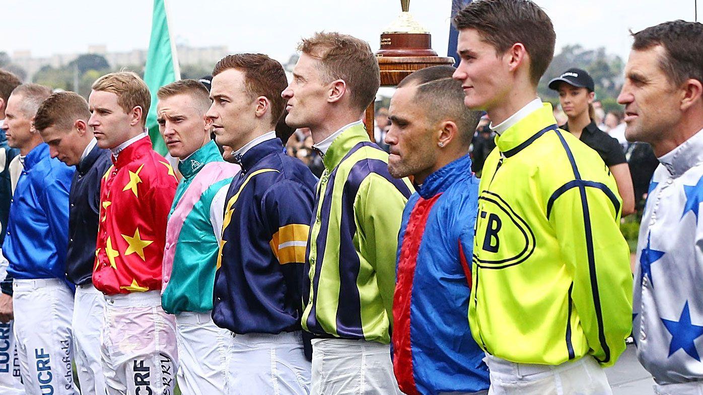 Melbourne Cup jockeys