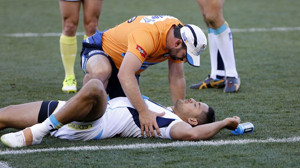 Hayne cleared after NRL injury scare