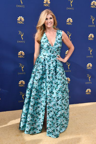 Actress Connie Britton at the 70th Emmy Awards