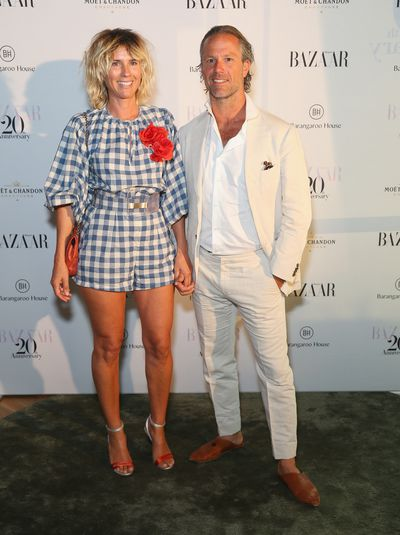 Sass and Bide's Sarah Jane Clarke at the Harper's Bazaar 20th anniversary party
