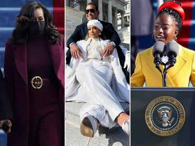 Fashion moments from the Biden-Harris inauguration