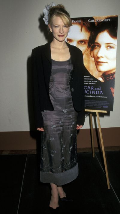 Cate Blanchett: Then...