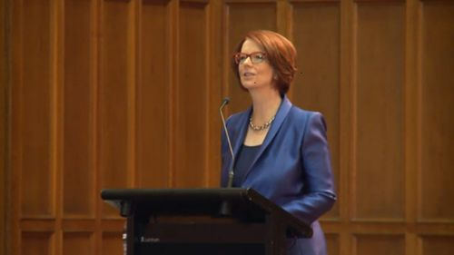 'We fail the world's children': Gillard calls for gender equality in education