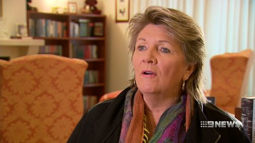 Bravehearts founder Hetty Johnston backed the move. Picture: 9NEWS