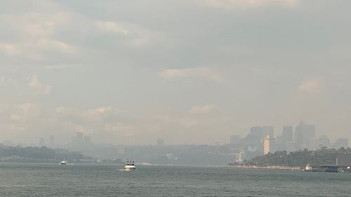 A thick blanket of smoke covers Sydney once again as winds fan multiple fires burning out of control around the state.