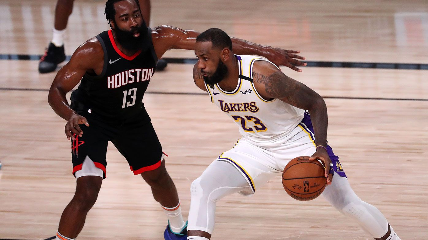 LeBron's Lakers headed to Western conference finals as Rockets bounced out
