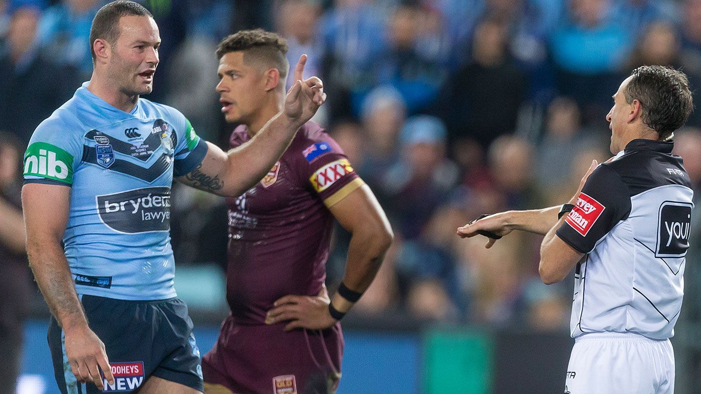 State of Origin: Ben Hunt claims Boyd Cordner ran into him for game-deciding penalty try