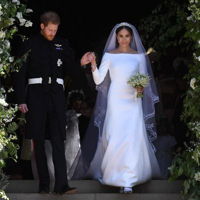 """<p>There is one thing all of the dresses<a href=""""https://style.nine.com.au/2018/06/29/09/41/meghan-markle-highlighter"""" target=""""_blank"""" title=""""Meghan Markle"""" draggable=""""false"""">Meghan Markle</a> has worn since her May <a href=""""https://style.nine.com.au/2018/05/19/18/23/royal-wedding-dress-prince-harry-meghan-markle-2018"""" target=""""_blank"""" title=""""wedding to PrinceHarry"""" draggable=""""false"""">wedding to Prince Harry</a> have in common.</p> <p>There have all been created by female designers.</p> <p>Fashion is becoming increasingly political and it appears the Duchess of Sussex is sending a clear message that she is a proud advocate for women and the feminist movement.</p> <p>From the <em>Suits</em> star's Givnechy wedding gown, designed by Givenchy's first ever female artistic director, Clare Waight Keller, to the blush off-the-shoulder dress she wore for Trooping of the Colour last month and the white shirt dress she most recently wore to the <a href=""""https://style.nine.com.au/2018/06/20/09/08/meghan-markle-ascot-fashion-style-favourite-look"""" target=""""_blank"""" title=""""Ascot Races"""" draggable=""""false"""">Ascot Races</a> designed by Prada's head designer, Miuccia Prada, Markle has made a statement about where she stands.</p> <p>It's no secret that the former actress is a supporter of gender equality. Back in 2016 the 36 year-old represented the United Nations as an advocate for women's empowerment and equality. The newly-married royal has also outlined her commitment to championing gender equality on the British monarchy's website. </p> <p>Markle even used her platform at her first official engagement at the Royal Foundation in February with Prince William, Kate Middleton andhusband Harry to speak out in support of the Time's Up campaign against sexual harassment.</p> <p>""""I hear a lot of people speaking about girls' empowerment and women's empowerment - you will hear people saying they are helping women find their voices,"""" she said. """"I fundamentally disagree with that because women don"""