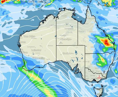 It's the shortest day and the longest night of the year topped off with some chilly temperatures. Picture: Weatherzone
