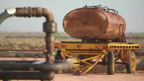 Power to the town is supplied by a diesel generator, while water is delivered twice weekly. (9NEWS)