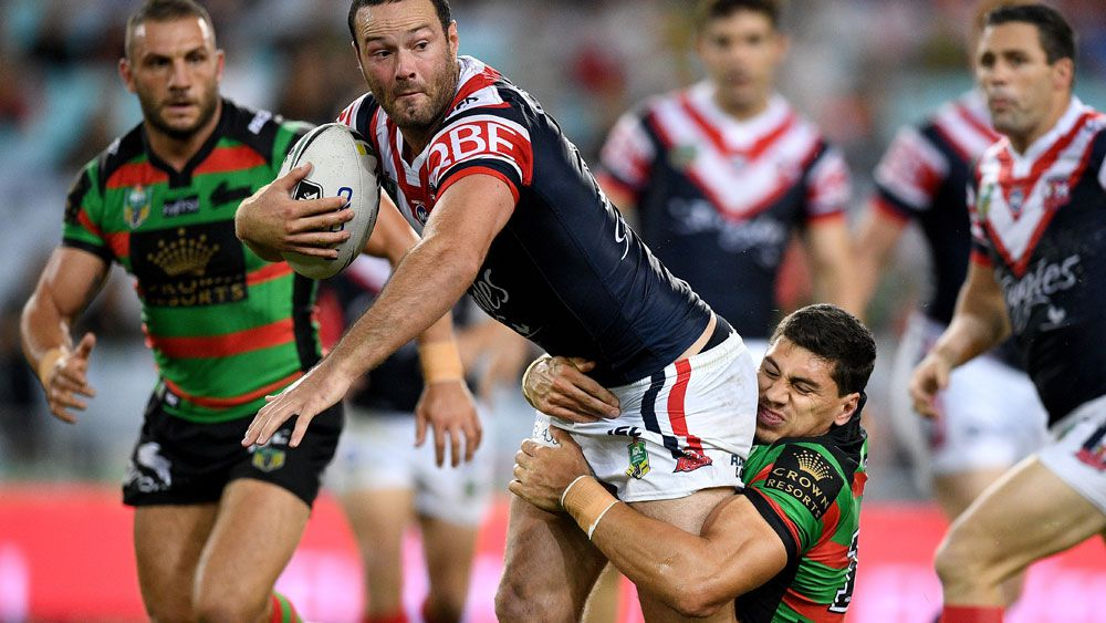 Roosters coach Trent Robinson is unhappy with the scheduling of the clash with rivals South Sydney. (AAP)