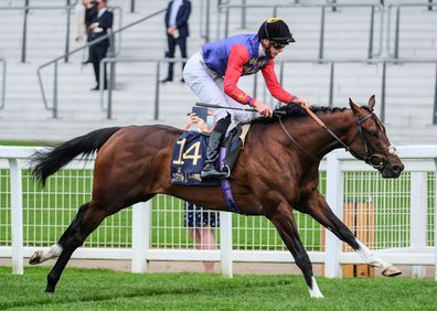 Tactical ridden by James Doyle wins the Windsor Castle Stakes during Day 2 of Royal Ascot at Ascot Racecourse on June 17, 2020 in Ascot, England