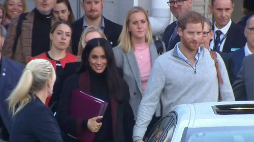 Prince Harry and Meghan Markle have arrived in Sydney this morning for their whirlwind royal tour ahead of the Invictus Games.
