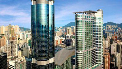 Cordis hotel, Hong Kong exterior