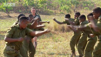 Australian Damien Mander, a special ops sniper, trains the Akashinga Rangers - Zimbabwe's all-female anti-poaching unit.
