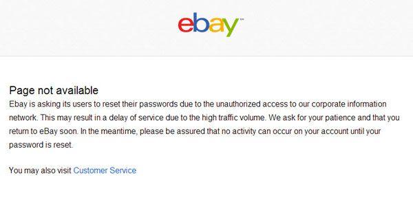 eBay message