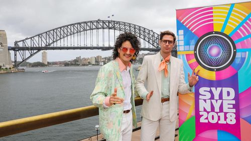 Client Liaison's Monte Morgan and Harvey Miller described the Sydney New Year's Eve collaboration as a creative dream.