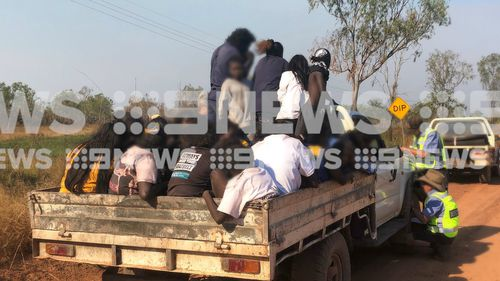 Overloaded ute: Police baffled south-west of Darwin by car with 33