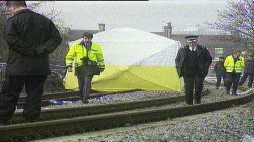 James battered body was found on a railway line.