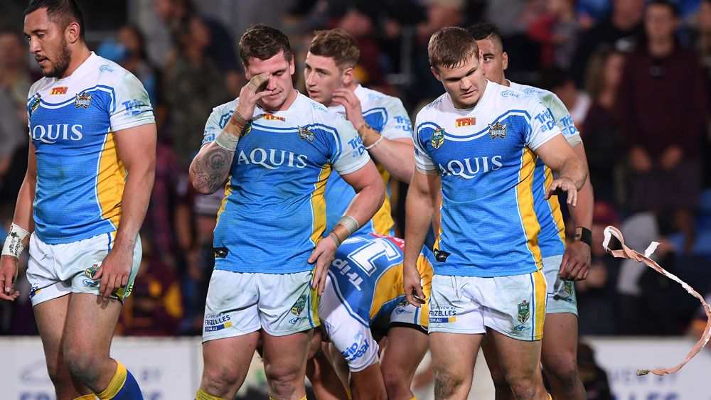 Phil Gould asks if any Gold Coast Titans players grew up wanting to be there