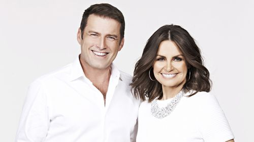 Karl Stefanovic and Lisa Wilkinson. (9NEWS)
