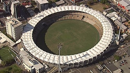 The Gabba is an iconic part of Brisbane's sporting history. Image: 9News