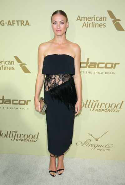 Yvonne Strahovski at <em>The Hollywood Reporter</em> and SAG-AFTRA Inaugural Emmy Nominees Night in Beverly Hills, September 2017