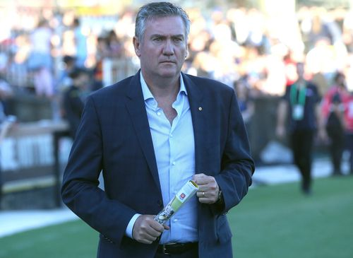 Eddie McGuire is vowing to sue Facebook over a fake news story. (AAP)