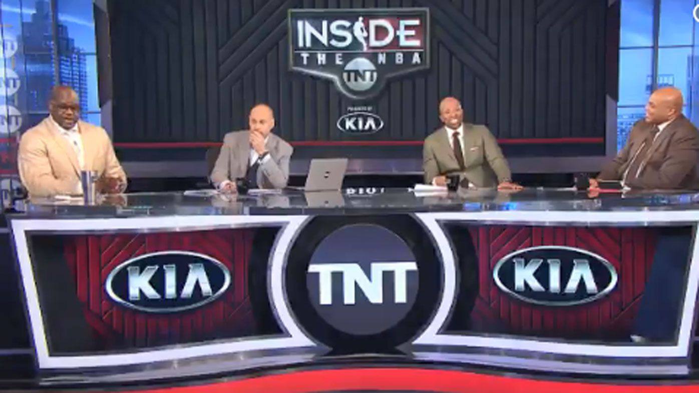 'I am going to knock your a-- out': Shaq and Charles Barkley get heated