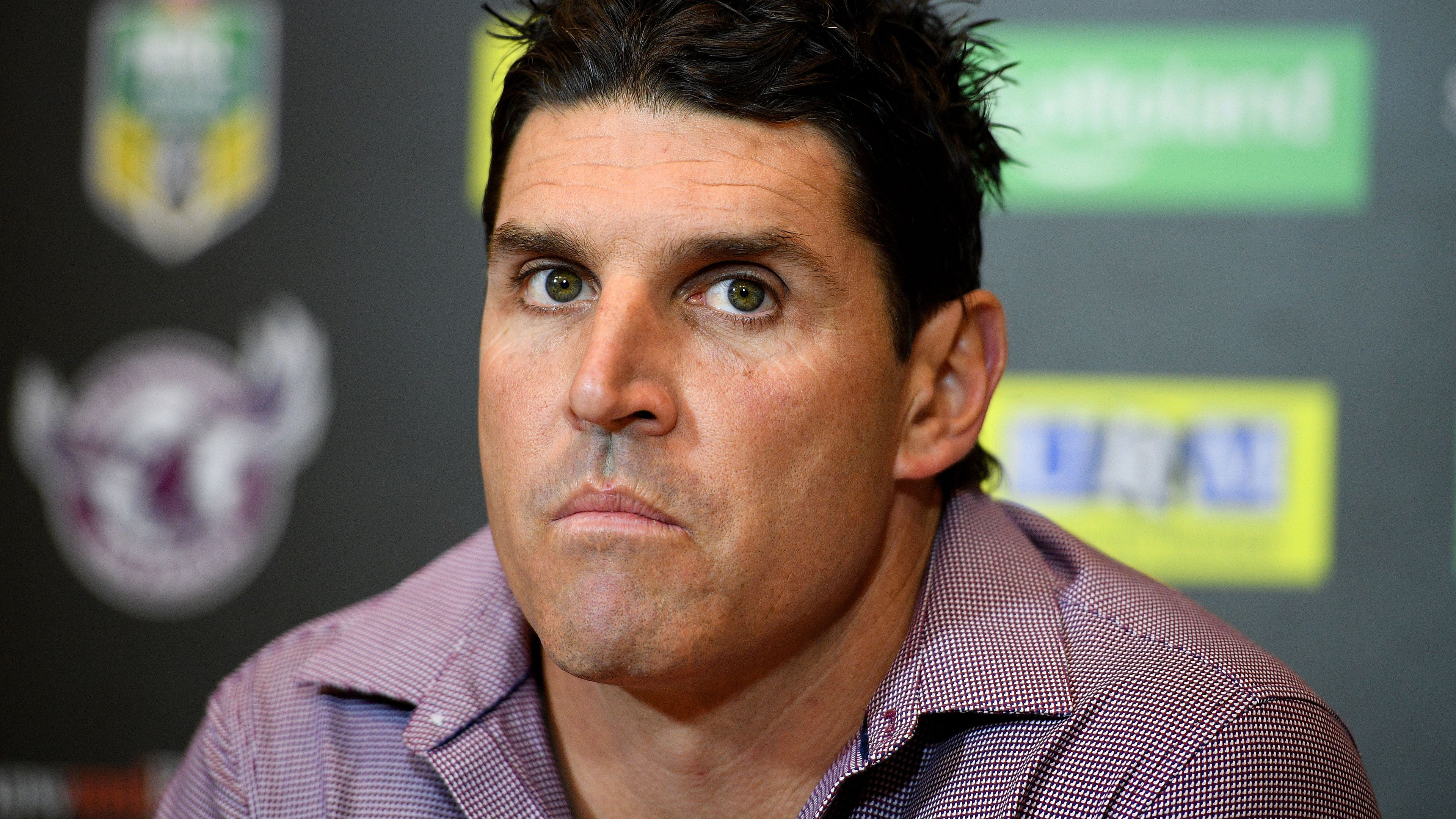 Trent Barrett the elephant in the room as Des Hasler returns to Manly