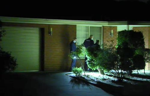 Police were called to the property just before 7.30pm yesterday. (9NEWS)