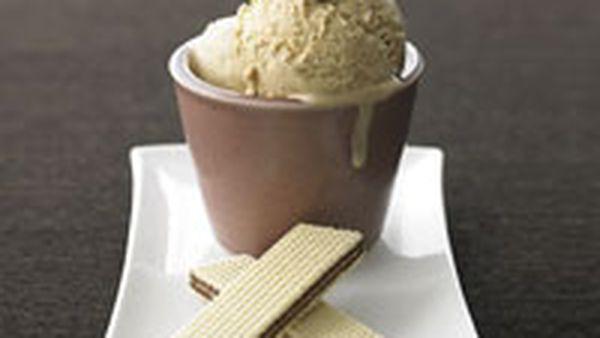 Italian coffee ice-cream