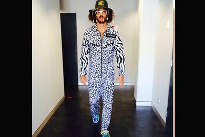 '@redfoo is ready for #xfactorau #AussieWeek!'