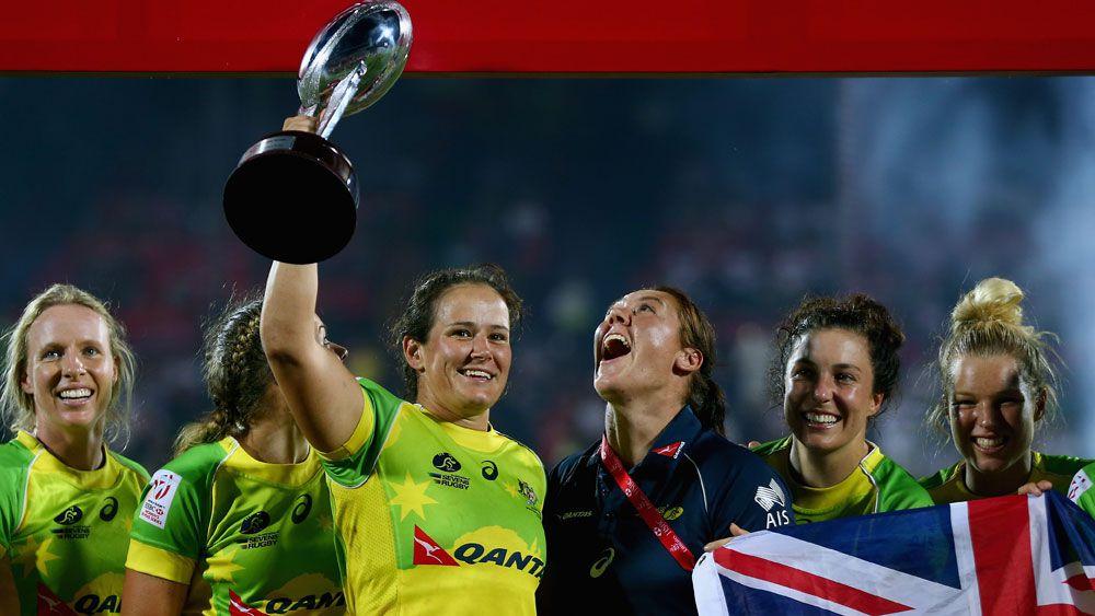 Aust women win Dubai rugby sevens title