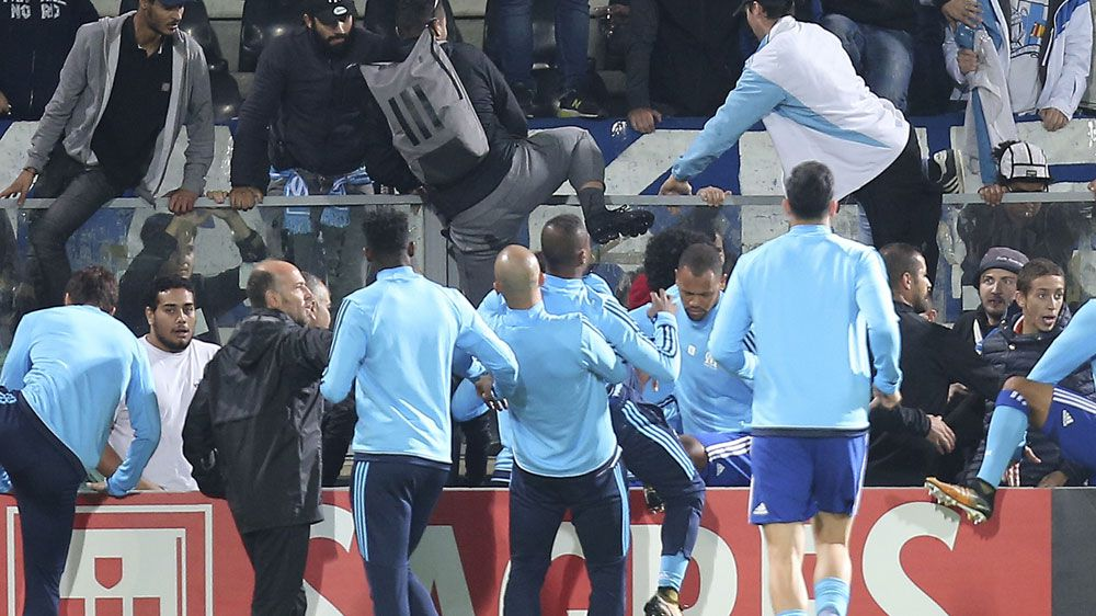 Europa League: Patrice Evra charged by UEFA over fan attack