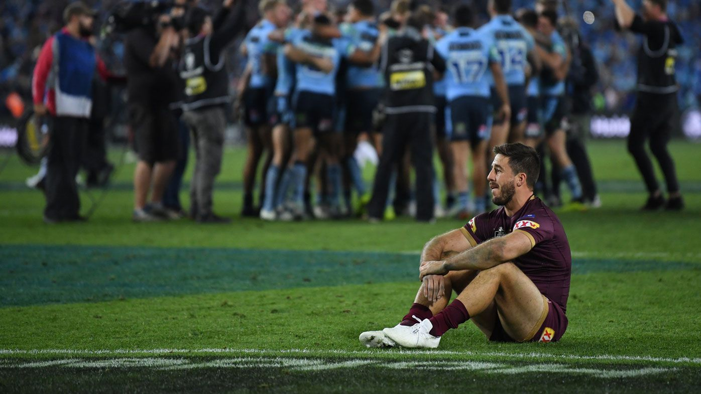 Queensland half Ben Hunt has been benched.