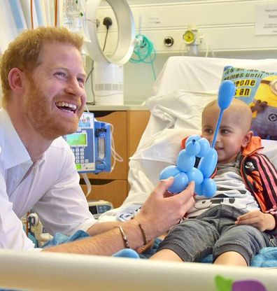 Prince Harry visits Oxford