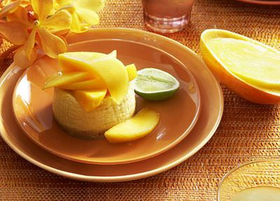 "Recipe:&nbsp;<a href=""http://kitchen.nine.com.au/2016/05/19/13/57/mango-cheesecakes"" target=""_top"">Mango cheesecakes</a>"