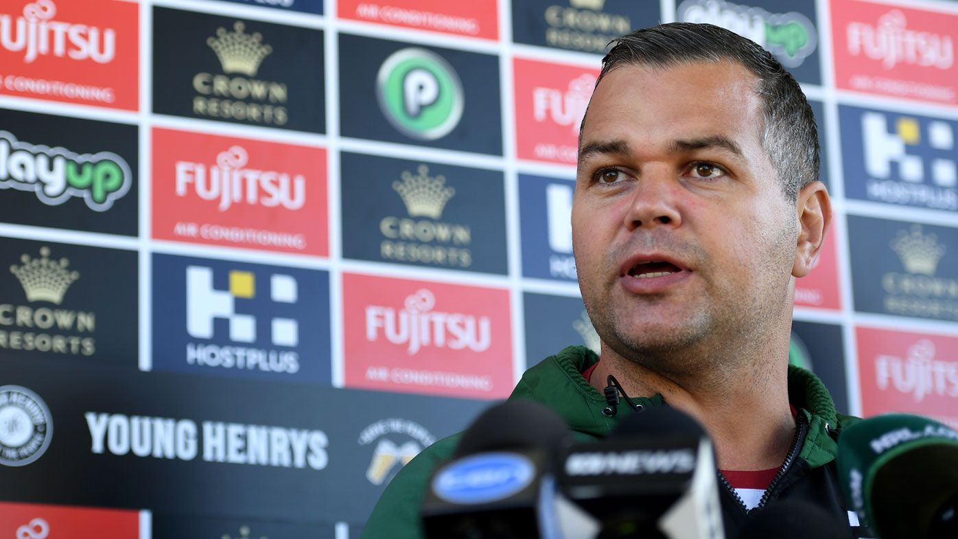 Anthony Seibold slams media for reported rift with players amid talk of coach swap
