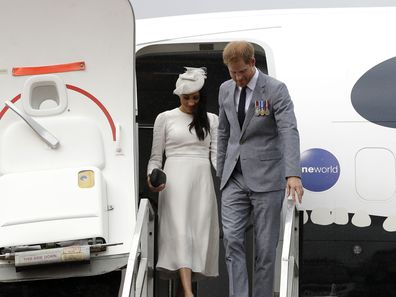 Prince Harry and Meghan Markle face new criticism over private jet travel