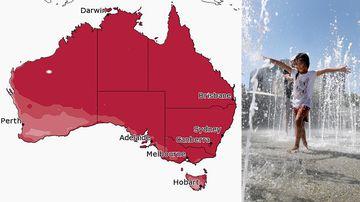 Australia heatwave weather forecast Autumn